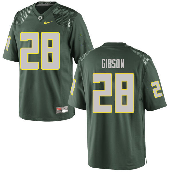 Men #28 Billy Gibson Oregn Ducks College Football Jerseys Sale-Green