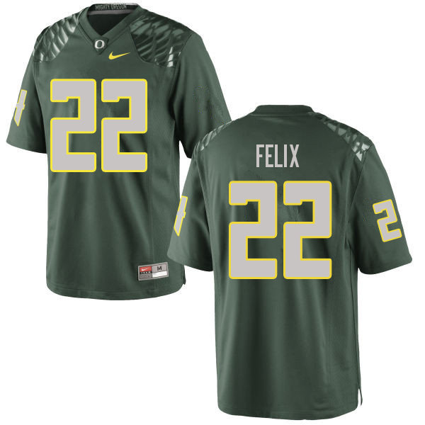 Men #22 Darrian Felix Oregn Ducks College Football Jerseys Sale-Green