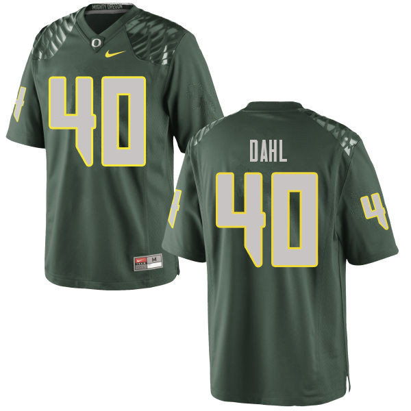 Men #40 Noah Dahl Oregn Ducks College Football Jerseys Sale-Green