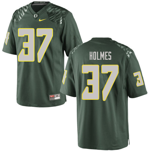Men #37 Noah Holmes Oregn Ducks College Football Jerseys Sale-Green