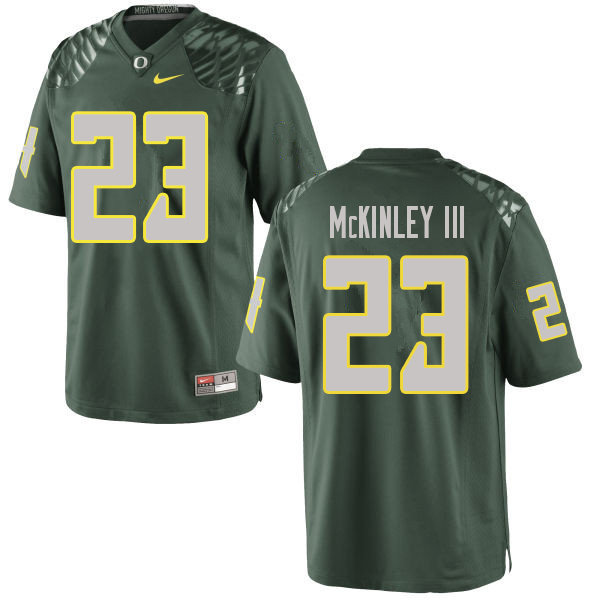 Men #23 Verone McKinley III Oregn Ducks College Football Jerseys Sale-Green