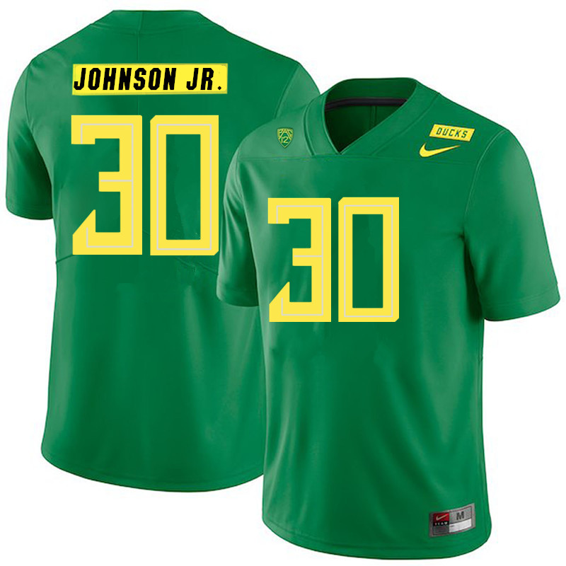 2019 Men #30 Andrew Johnson Jr. Oregon Ducks College Football Jerseys Sale-Green