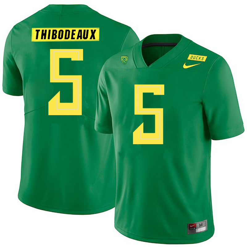 2019 Men #5 Kayvon Thibodeaux Oregon Ducks College Football Jerseys Sale-Green