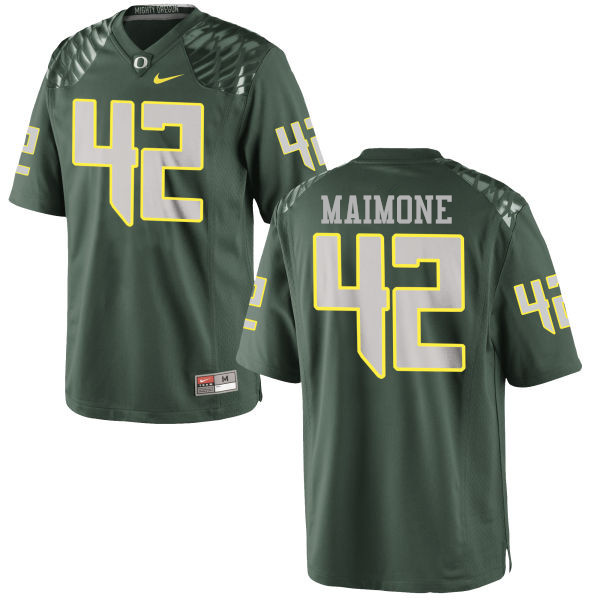 Men #42 Blake Maimone Oregon Ducks College Football Jerseys-Green