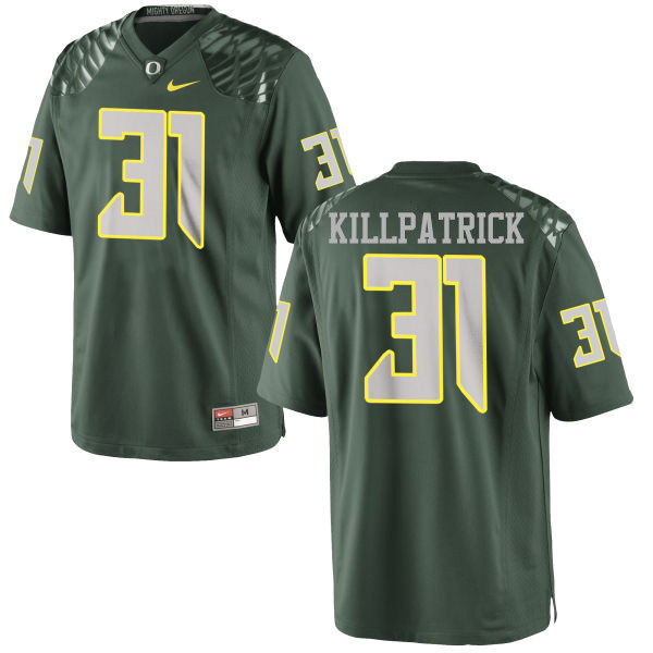 Men #31 Sean Killpatrick Oregon Ducks College Football Jerseys-Green